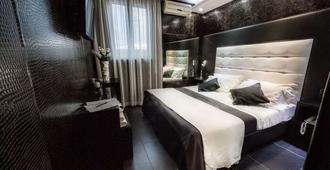 克列奥帕特拉设计酒店 - 那不勒斯 - 睡房