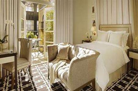 花园宫殿酒店 - 帕罗奥多 - 睡房