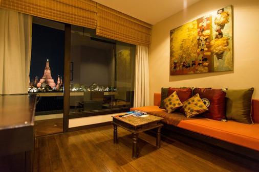 阿伦公寓酒店 - 曼谷 - 客厅