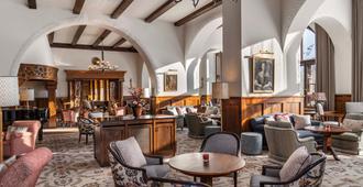 苏维塔之家酒店 - 圣莫里茨 - 餐馆