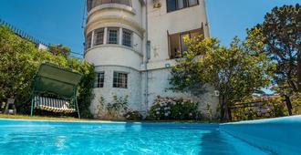 拉卡索纳名卡青年旅舍 - 瓦尔帕莱索 - 游泳池