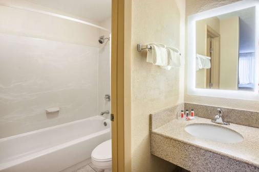 霍华德约翰逊地铁机场酒店 - 罗穆卢斯 - 浴室
