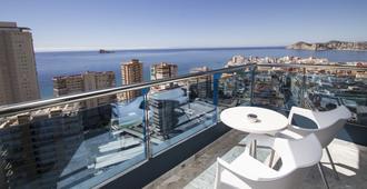 马德里中心酒店 - 贝尼多姆 - 阳台