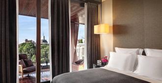 米兰宝格丽酒店 - 米兰 - 睡房