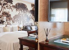 德美第奇德拉格生活酒店 - 杜塞尔多夫 - 睡房