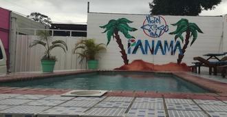 巴拿马托库门国际机场快捷酒店 - 巴拿马城 - 游泳池