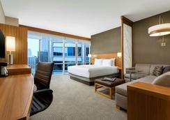 芝加哥/市中心卢普区凯悦嘉轩酒店 - 芝加哥 - 睡房