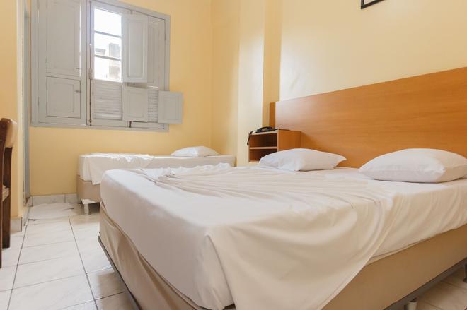 瓜纳巴拉酒店 - 贝洛奥里藏特 - 睡房