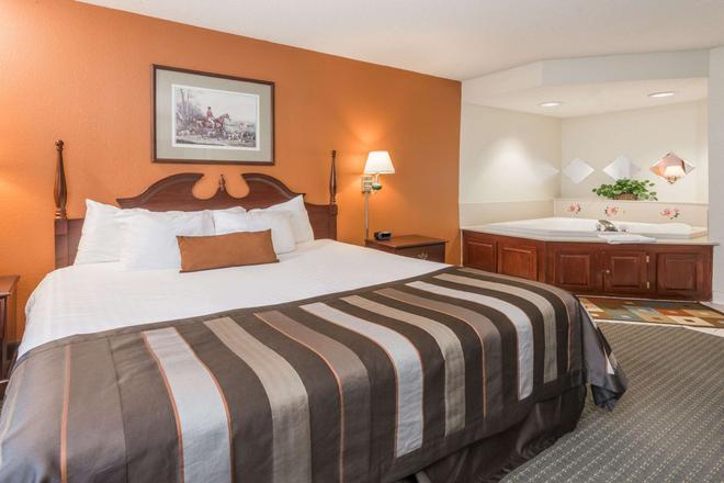 印第安纳波利斯机场-罗克韦尔路温盖特温德姆酒店 - 印第安纳波利斯 - 睡房