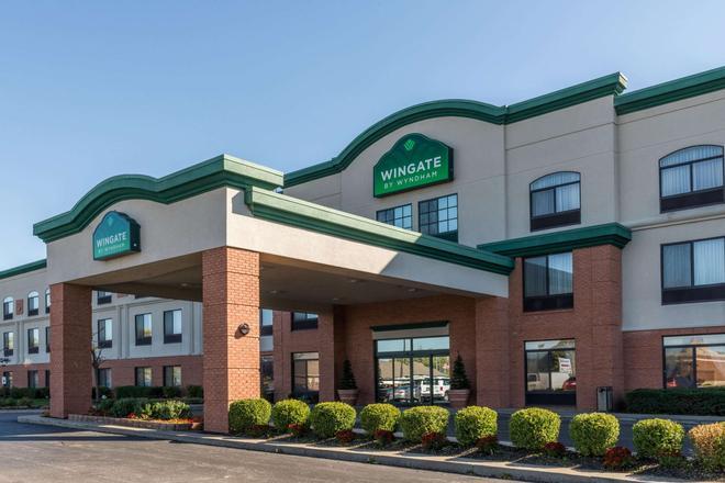 印第安纳波利斯机场-罗克韦尔路温盖特温德姆酒店 - 印第安纳波利斯 - 建筑
