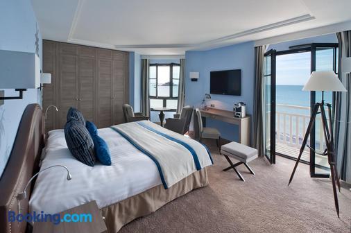 里新时髦酒店 - 圣马洛 - 睡房