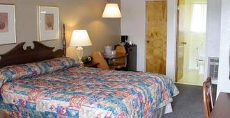 隆恩橡木酒店 - 蒙特雷 - 睡房