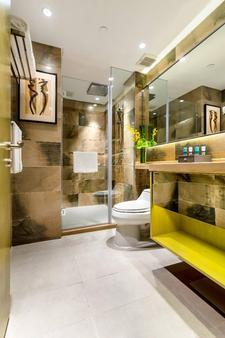 苏州奥克伍德酒店国际公寓 - 苏州 - 浴室