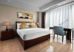 苏州奥克伍德酒店国际公寓 - 苏州 - 睡房