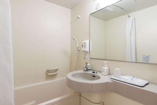 前桥舒适酒店 - 前桥市 - 浴室
