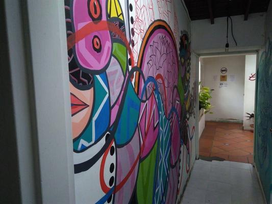 库尔托艺术旅馆 - 麦德林 - 门厅