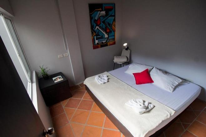库尔托艺术旅馆 - 麦德林 - 睡房