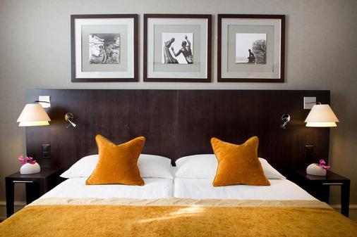 奥特伊玛诺特酒店 - 日内瓦 - 睡房