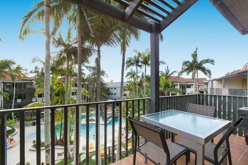 努萨海德兹哈斯廷法国度假胜地努萨海滩公寓 - 奴沙岬 - 阳台