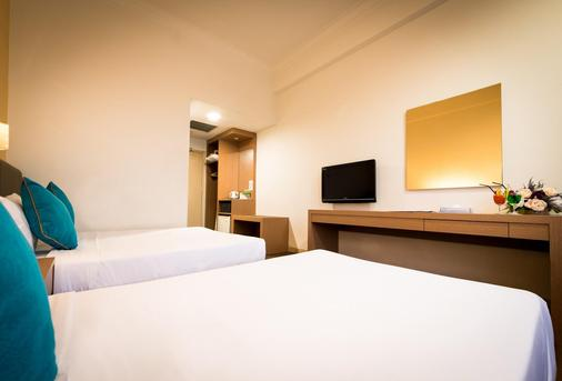 新山中心酒店 - 柔佛巴鲁 - 睡房