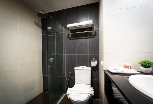 新山中心酒店 - 柔佛巴鲁 - 浴室