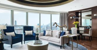 香港康得思酒店 - 香港 - 客厅