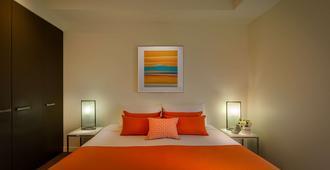 翠贝卡服务式公寓酒店 - 墨尔本 - 睡房