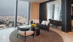 安曼罗塔纳酒店 - 安曼 - 客厅
