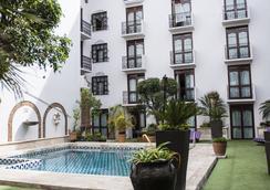 普埃布拉圣佩德罗酒店 - 普埃布拉 - 游泳池