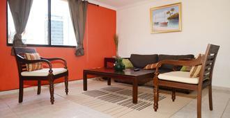 纳科公寓酒店 - 圣多明各 - 客厅