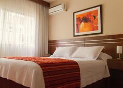 美国酒店 - 蒙得维的亚 - 睡房