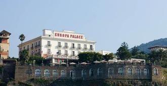 欧罗巴宫殿大酒店 - 索伦托 - 客厅