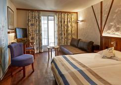 苏黎世阿德勒酒店 - 苏黎世 - 睡房