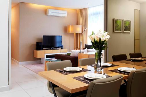 吉隆坡宾乐雅服务式公寓 - 吉隆坡 - 餐厅