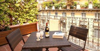 帕妮萨酒店 - 米兰 - 阳台
