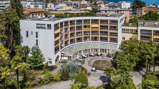 特尔提亚帕尔科公寓式酒店 - 洛迦诺 - 建筑