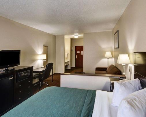 优质套房酒店 - 威奇托福尔斯 - 睡房