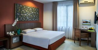 帕拉夏酒店 - 登巴萨 - 睡房