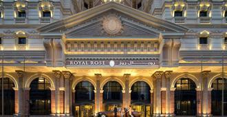 皇家玫瑰酒店 - 阿布扎比 - 建筑