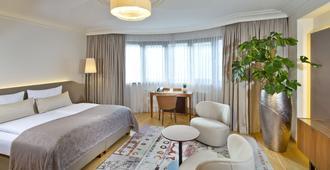 马克西米利安彭茨市政厅酒店 - 因斯布鲁克 - 睡房