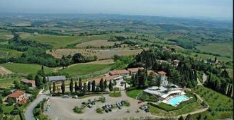 雷莱斯卡布奇纳酒店及Spa - 圣吉米纳诺 - 户外景观