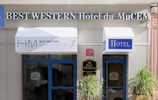 贝斯特韦斯特姆赛姆酒店 - 马赛 - 建筑