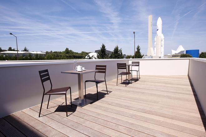 图卢兹巴尔马康铂太空城酒店 - 图卢兹 - 阳台
