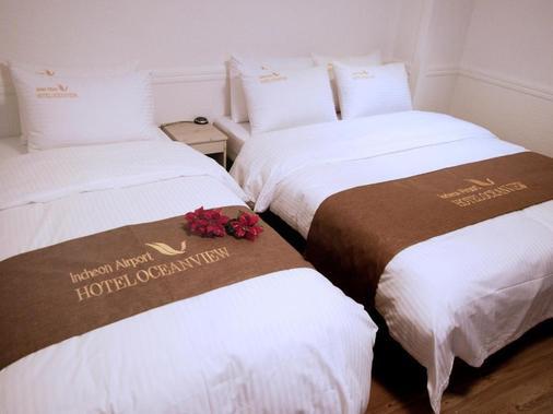 仁川机场海景酒店 - 仁川 - 睡房