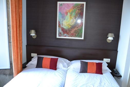 星辰膳食公寓 - 圣地亚哥-德孔波斯特拉 - 睡房