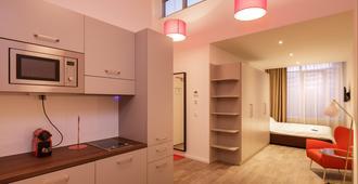 慕尼黑布雷拉服务式公寓 - 慕尼黑 - 厨房