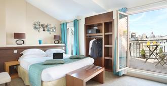 巴黎诺曼底大酒店 - 巴黎 - 睡房