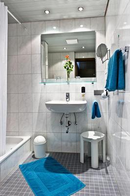 柏丽娜霍夫城市伙伴酒店 - 卡尔斯鲁厄 - 浴室