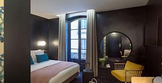 南特中心波默海耶廊街酒店 - 南特 - 睡房