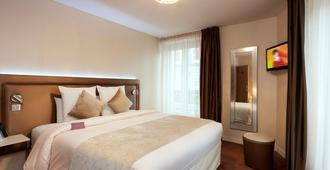 巴黎意大利广场美居酒店 - 巴黎 - 睡房